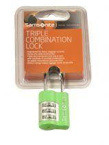 Hangslot Samsonite Groen accessoires U23103
