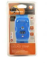 Bagageriem Samsonite Blauw accessoires U23003
