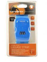 Bagageriem Samsonite Blauw accessoires U23002