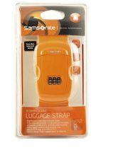 Sangle à Bagage Samsonite Orange accessoires U23002