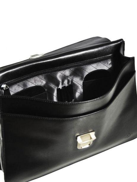 Serviette 1 Compartiment Etrier Noir crosta 63039 vue secondaire 6