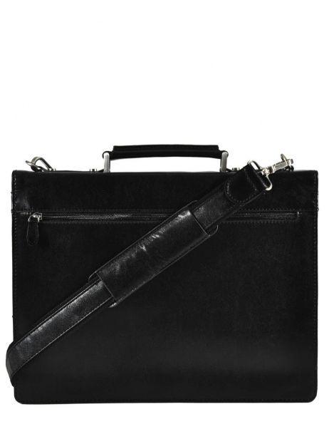 Serviette 1 Compartiment Etrier Noir crosta 63039 vue secondaire 5