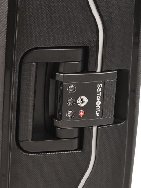 Handbagage Hard Samsonite Zwart s'cure 10U003 ander zicht 4