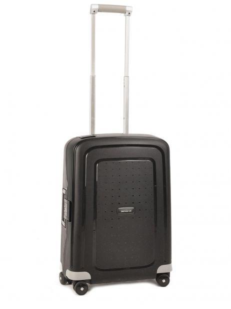 Handbagage Hard Samsonite Zwart s'cure 10U003