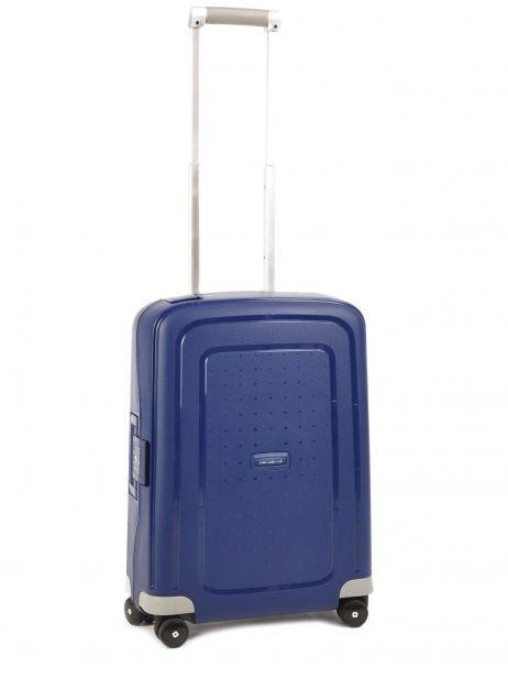 Valise Cabine Rigide Samsonite Bleu s'cure 10U003