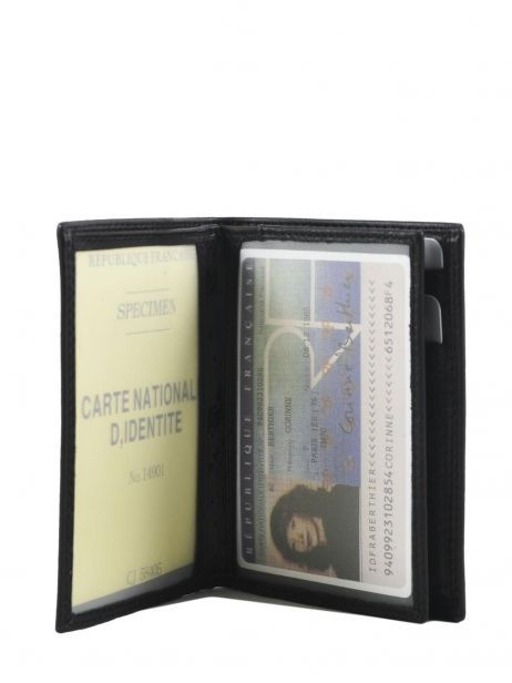 Portefeuille Cuir Francinel Noir bruges 67944 vue secondaire 4