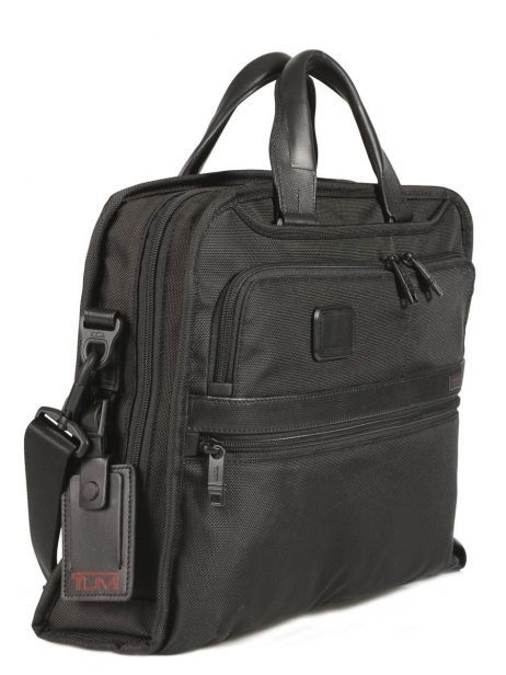 Porte-documents 1 Compartiment Tumi Noir alpha DH26108 vue secondaire 4