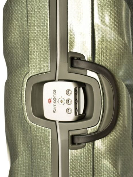 Valise Rigide Lite Locked Samsonite Vert lite locked 1V001 vue secondaire 2