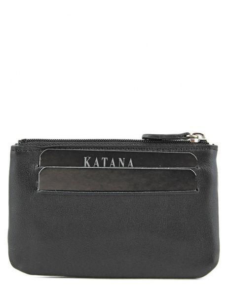 Porte-monnaie Cuir Katana Noir daisy 553120 vue secondaire 2