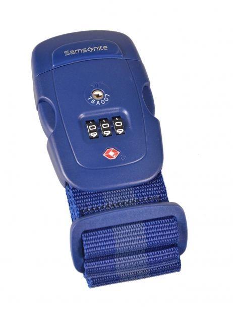 Sangle à Bagage Samsonite Bleu accessoires U23009
