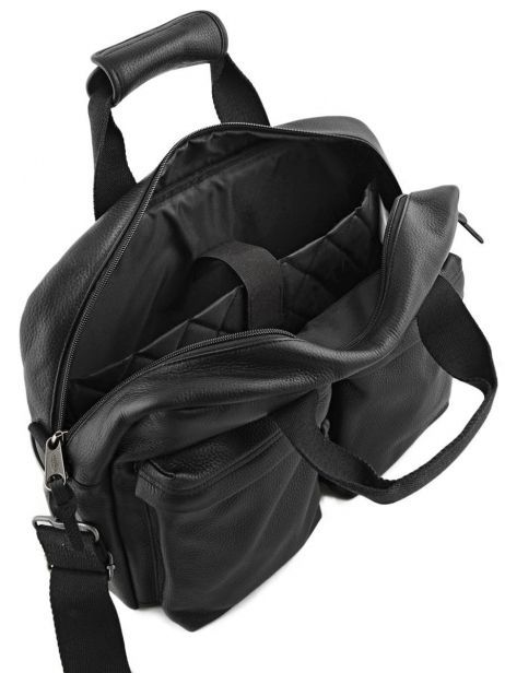 Sac Porté Main 1 Compartiment + Pc 15'' Eastpak Noir leather K023L vue secondaire 5
