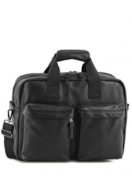 Sac Porté Main 1 Compartiment + Pc 15'' Eastpak Noir leather K023L
