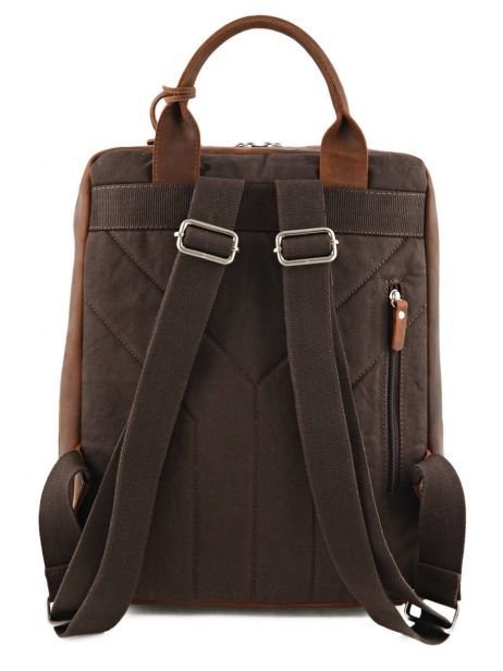 Sac à Dos Business 1 Compartiment + Pc 13'' Leonhard heyden Marron salisbury 7669 vue secondaire 4