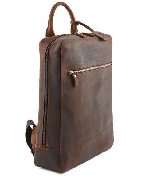 Sac à Dos Business 1 Compartiment + Pc 13'' Leonhard heyden Marron salisbury 7669 vue secondaire 3