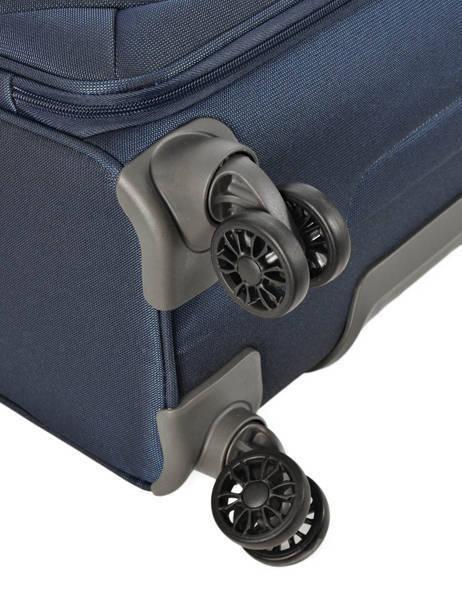 Handbagage Soepel Samsonite Blauw spark 38V020 ander zicht 3
