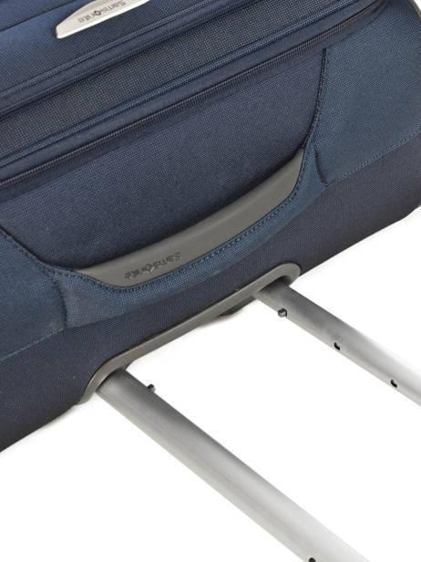 Handbagage Soepel Samsonite Blauw spark 38V020 ander zicht 2