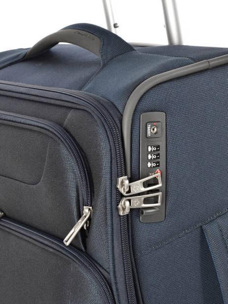 Handbagage Soepel Samsonite Blauw spark 38V020 ander zicht 1