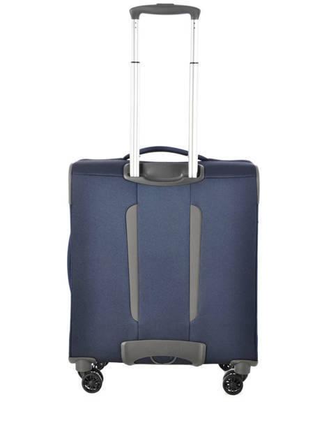 Handbagage Soepel Samsonite Blauw spark 38V020 ander zicht 6