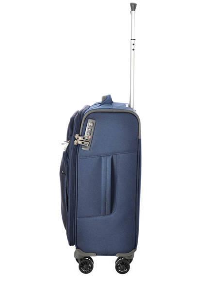 Handbagage Soepel Samsonite Blauw spark 38V020 ander zicht 5