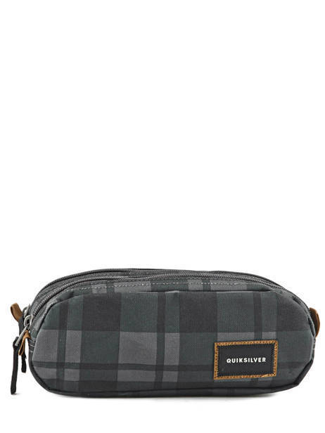 Trousse 2 Compartiments Quiksilver Gris back to school YAA03344