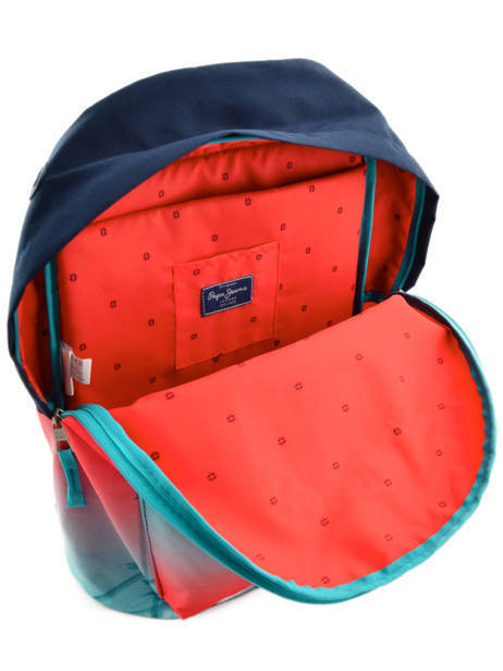 Sac à Dos 1 Compartiment Pepe jeans Multicolore dario 64323 vue secondaire 6