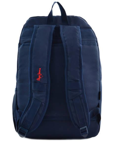 Sac à Dos 2 Compartiments Pepe jeans Multicolore dario 64325 vue secondaire 5