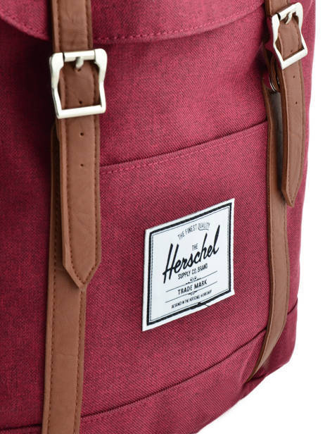 Sac à Dos 1 Compartiment + Pc 15'' Herschel Rouge classics 10066 vue secondaire 1