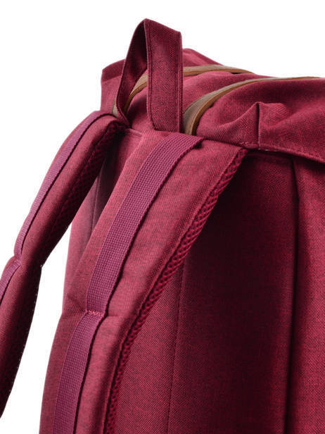 Sac à Dos 1 Compartiment + Pc 15'' Herschel Rouge classics 10066 vue secondaire 2
