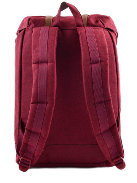 Sac à Dos 1 Compartiment + Pc 15'' Herschel Rouge classics 10066 vue secondaire 5