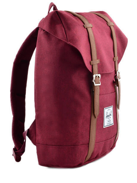 Sac à Dos 1 Compartiment + Pc 15'' Herschel Rouge classics 10066 vue secondaire 4