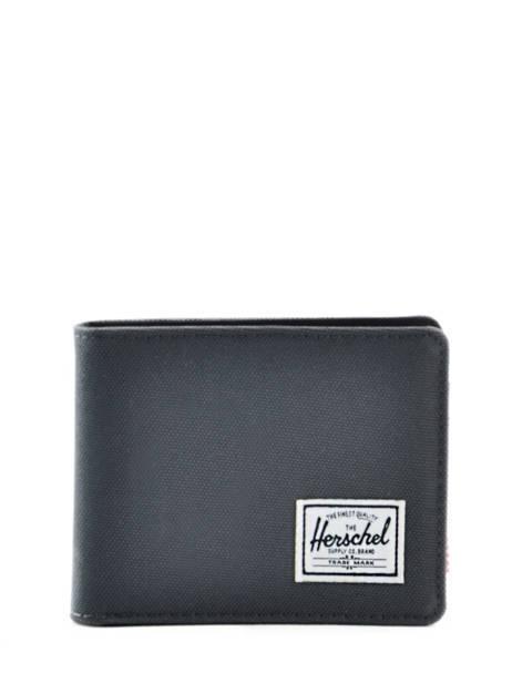 Portefeuille Herschel Noir classics 10069