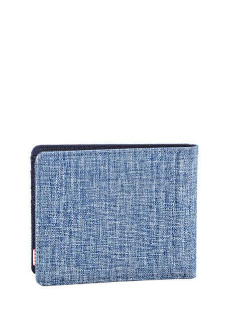 Portefeuille Herschel Bleu classics 10069 vue secondaire 2