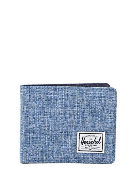 Portefeuille Herschel Bleu classics 10069