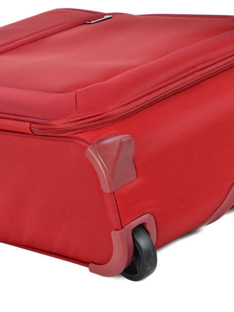 Handbagage Soepel Samsonite Rood uplite 99D003 ander zicht 1