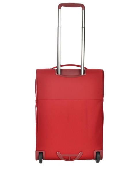 Handbagage Soepel Samsonite Rood uplite 99D003 ander zicht 4