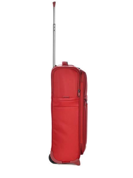 Handbagage Soepel Samsonite Rood uplite 99D003 ander zicht 3