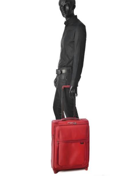 Handbagage Soepel Samsonite Rood uplite 99D003 ander zicht 2