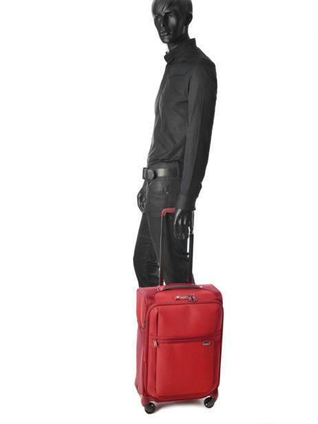 Handbagage Samsonite Rood uplite 99D005 ander zicht 3