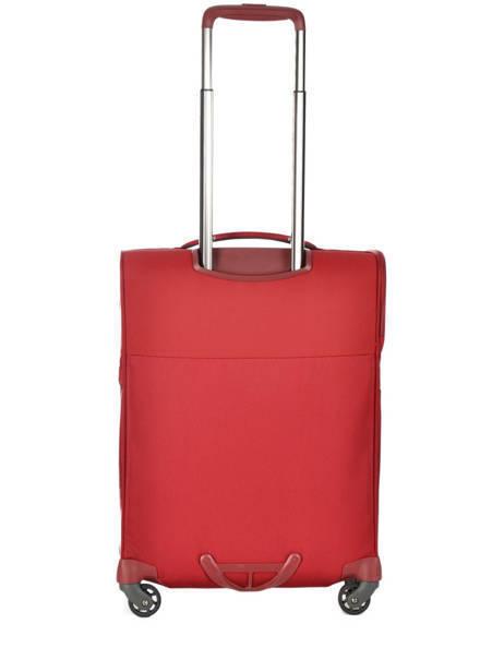 Handbagage Samsonite Rood uplite 99D005 ander zicht 5