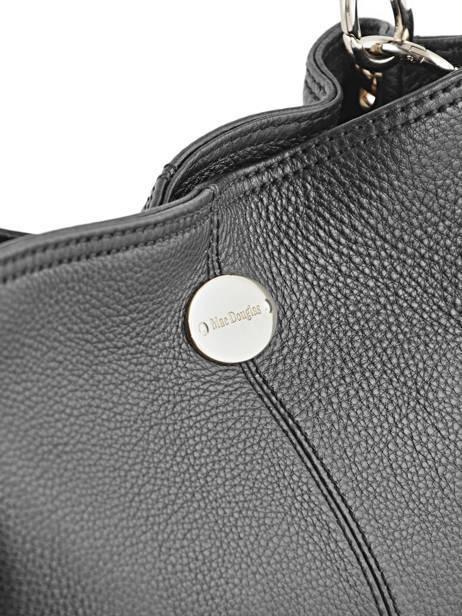 Bucket Bag Vesuvio Leder Mac douglas Zwart vesuvio MEGVES-S ander zicht 1