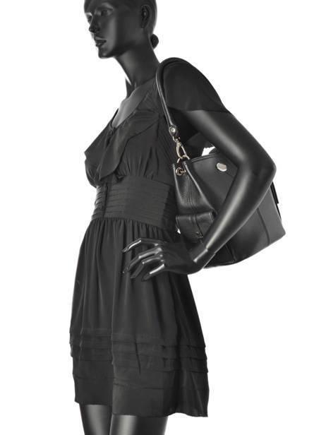 Bucket Bag Vesuvio Leder Mac douglas Zwart vesuvio MEGVES-S ander zicht 3