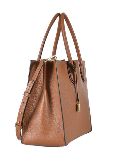Cabas Mercer Cuir Michael kors Marron mercer F6GM9T3L vue secondaire 3