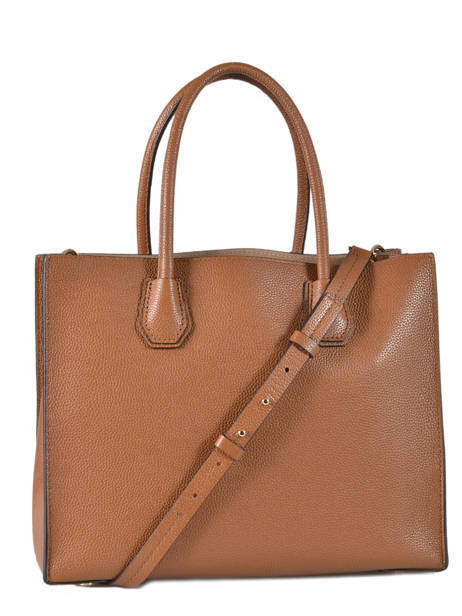 Cabas Mercer Cuir Michael kors Marron mercer F6GM9T3L vue secondaire 4