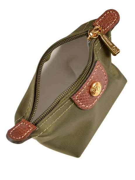 Longchamp Porte monnaie Vert