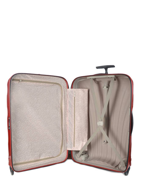 Valise Rigide Cosmolite Samsonite Rouge cosmolite V22304 vue secondaire 6