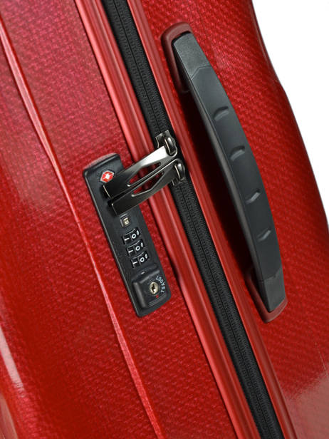 Valise Rigide Cosmolite Samsonite Rouge cosmolite V22304 vue secondaire 1