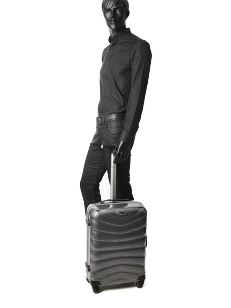 Handbagage Hard Samsonite Grijs firelite U72901 ander zicht 2