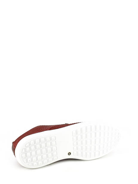 Veterschoenen Bull boxer Rood chaussures a lacets K2-3939I ander zicht 5