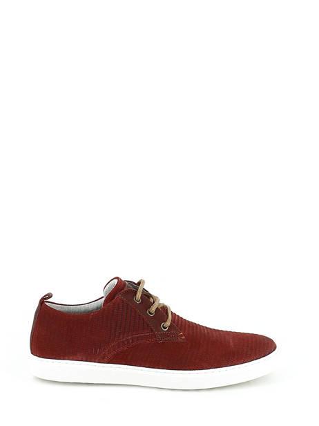 Veterschoenen Bull boxer Rood chaussures a lacets K2-3939I ander zicht 1