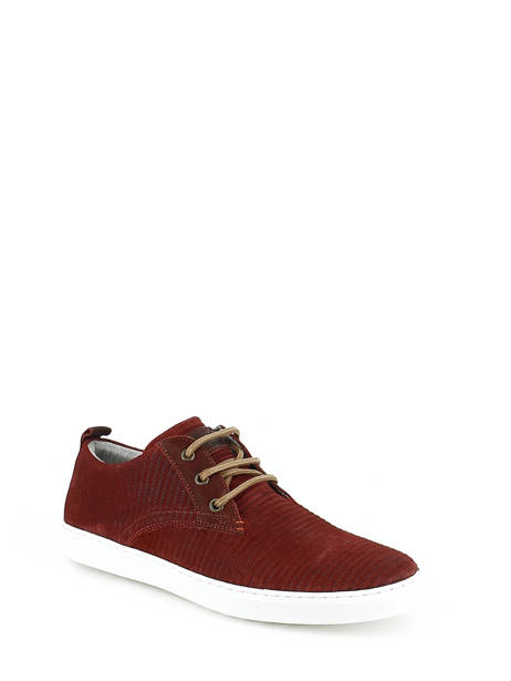 Veterschoenen Bull boxer Rood chaussures a lacets K2-3939I